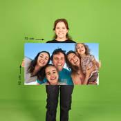 50x70 cm Fotoblok Baskı Arkası Yapışkanlı