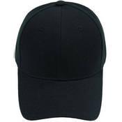 Siyah Şapka + tasarım + baskı