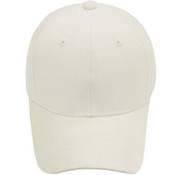 Beyaz şapka + tasarım + baskı
