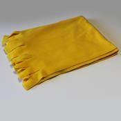 Polar Şal Baskı Sarı + tasarım + baskı
