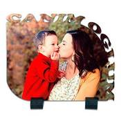 Canım Oğlum Kenar Kesimli 21x17 cm ahşap mdf üzeri ayaklı fotoğraf baskı