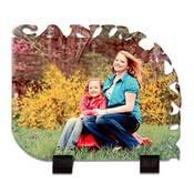 Canım Kızım Kenar Kesimli 21x17 cm ahşap mdf üzeri ayaklı fotoğraf baskı