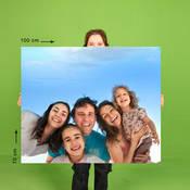 70x100 cm Fotoblok Baskı
